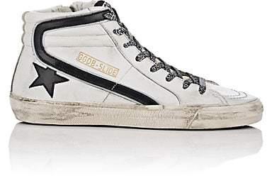 Golden Goose Women's Slide Leather Sneakers - White