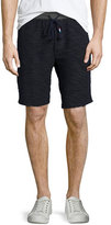 Sol Angeles Textured Knit Sweat Shorts, Navy