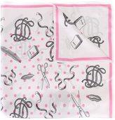 Olympia Le-Tan printed scarf - women - Silk - One Size