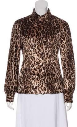 Dolce & Gabbana Long Sleeve Button Up Blouse