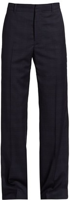 Balenciaga Tailored Virgin Wool Pants