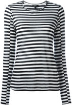 Rag & Bone striped long sleeve top - women - Lyocell/Cashmere - S