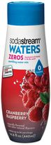 Sodastream Waters Zeros Cranberry Raspberry Flavored Sparkling Drink Mix