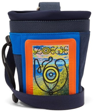 eye/LOEWE/nature Logo-print Cross-body Bag - Blue