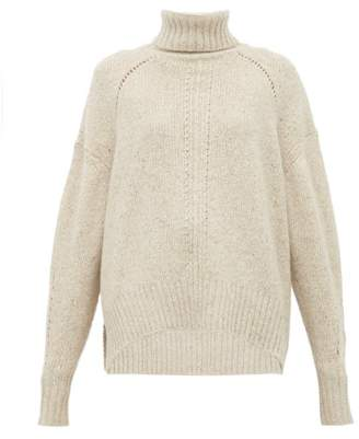 Isabel Marant Harriet Roll Neck Cashmere Sweater - Womens - Ivory