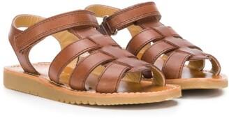 Gallucci Kids Strappy Flat Sandals