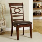 Carlton Venetian Worldwide Warm Cherry Dining Chair (Set of 2)