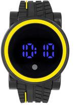FASHION WATCHES Mens Black Strap Watch-33358