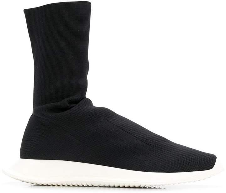 Rick Owens ankle sock sneakers