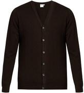 Sunspel V-neck Wool Cardigan