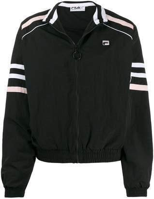 Fila zip-front logo patch jacket
