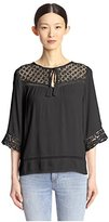 Cliche Clich Women's Lace Blouse