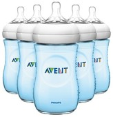 Avent Naturally Philips Natural Bottle Pink or Blue (5 Pack)