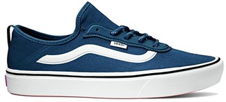 Vans ComfyCush Zushi SF ((Stretch Canvas) Dress Blues/True White) Lace up casual Shoes
