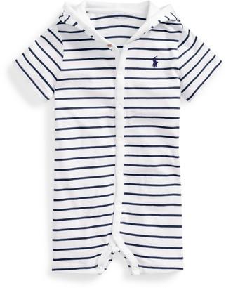 Ralph Lauren Striped Cotton Jersey Shortall