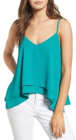 BP Women's Layered High/low Hem Tank