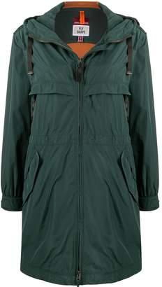 Parajumpers drawstring zipped parka coat