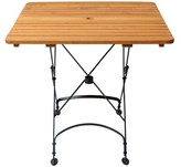 3.1 Phillip Lim Dowe Folding Dining Table August Grove Table Size , Umbrella Hole: Yes
