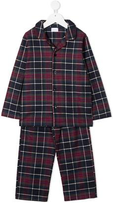 La Perla Kids Tartan Check Pyjamas