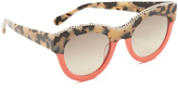 Stella McCartney Chain Colorblock Sunglasses
