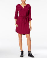 Maison Jules Utility Shirtdress, Only at Macy's