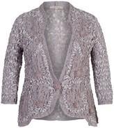 Chesca Lace Cornelli Embroidered Trim Jacket