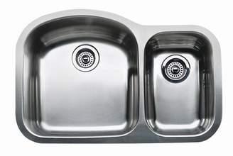 "Blanco Wave 32"" L x 21"" W Double Basin Undermount Kitchen Sink"