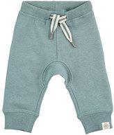 Molo Stan Heathered Drawstring Sweatpants, Sky, Size 12-24 Months