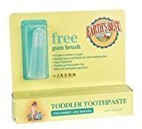 Earth's Best Jason Natural Toddler Toothpaste Strawberry & Banana - 1.6 Oz - Paste ( Multi-Pack)