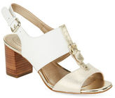 Circa Joan & David Kalista Colorblock Leather Sandals