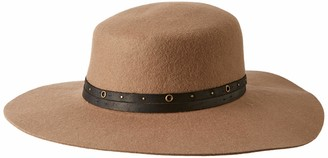 Frye Headwear Women's Felt Boater W Studed Belt