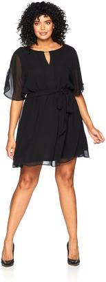 City Chic Women's Apparel Women's Plus Size Tunic Metal BAR