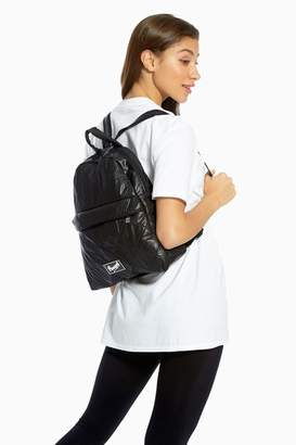 Pineapple Womens Quilted Backpack - Black