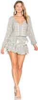 LoveShackFancy Popover Ruffle Dress