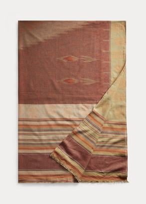 Ralph Lauren Cotton Jacquard Wrap Scarf