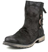 Roxy Bleeker Women Round Toe Canvas Black Boot.
