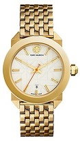 Tory Burch Whitney Watch, Gold-Tone/Ivory, 35 Mm