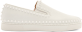 Christian Louboutin Pik Boat spike-embellished slip-on trainers