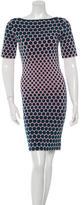 Stella McCartney Polka Dot Jacquard Dress