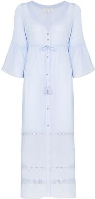 Heidi Klein Azores tassel-trimmed maxi dress