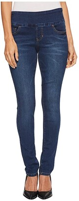 Jag Jeans Petite Nora Pull-On Skinny Butter Denim in Flatiron (Flatiron) Women's Jeans