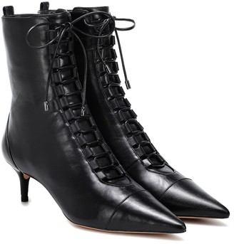 Alexandre Birman Millen 50 leather ankle boots