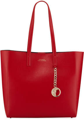 Versace Saffiano Large Tote Bag, Red