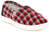 Toms Classic Plaid Slip-On Shoe (Little Kid & Big Kid)