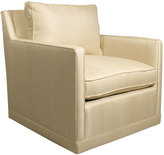 Horchow Nina St. Clair Gold Swivel Chair