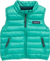 Patagonia Water Repellent Recycled Down Sweater Vest