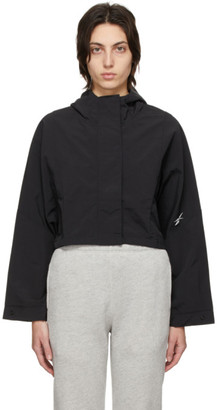 Reebok Classics Black Woven Layering Jacket