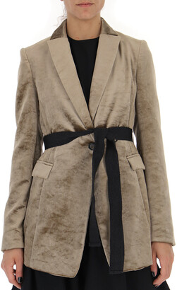 Brunello Cucinelli Slim-Fit Belted jacket