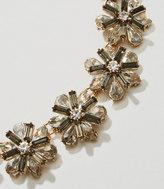 LOFT Winter Garden Statement Necklace