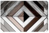 Oliver Gal Wood Diamond Dark by Canvas)